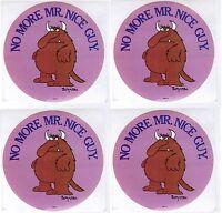 Vintage Sandra Boynton No More Mr Nice Guy 4 Large Stickers