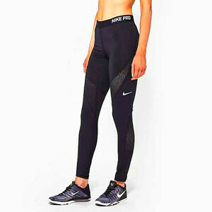 Nike-Pro-Hypercool-Compression-Tights-Ladies-Size-L-Black