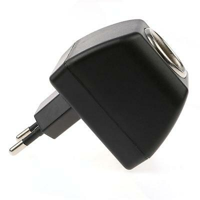 Universal EU Plug AC Wall Power to DC 12V/500mA Car Charger Adapter Converter