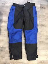 BMW Motorrad Pants Seattle Motorcycle Textile Blue Armored Size 30