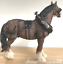 Large-Shire-Cart-Heavy-Horse-in-harness-ornament-figurine-Leonardo-gift-boxed miniatuur 4