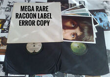 BEATLES WHITE ALBUM UK TOP OPEN STEREO WITH VRARE RACOON LABEL ERROR POSTER+PICS
