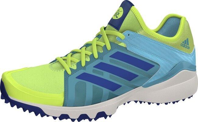 Neue schuhe männer adidas lux feldhockey schuhe Neue aq6510 grün / blau größe 9. d55662