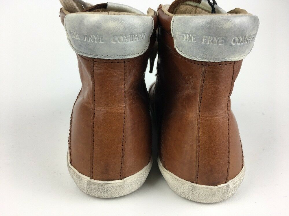 Frye 70047 Dylan High-Calf COG    High Lace-up casual Sz 7 COGNAC (85) Boots 2b431d