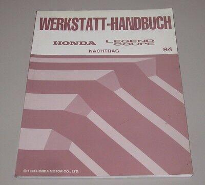 Nuttig Werkstatthandbuch Honda Legend Coupe Ka 7 / Ka 8 Motor Wartung Karosserie Klima!
