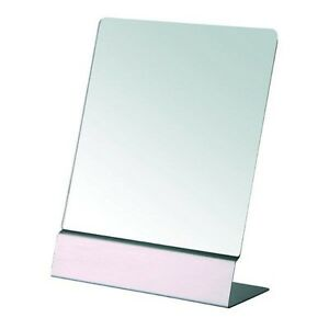 Image Is Loading GLIDE FREE STANDING LARGE TABLE TOP MIRROR STAINLESS