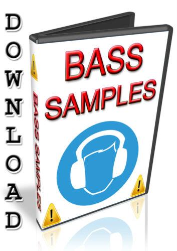 HALION BASS SAMPLES NUENDO- WAV APPLE LOGIC PRO X EXS24- STUDIO // EXPRESS