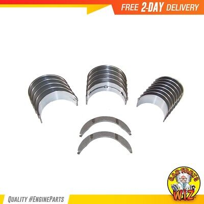 Main Rod Bearings Thrust Washers Fits 98-01 Honda Prelude 2.2L DOHC H22A4