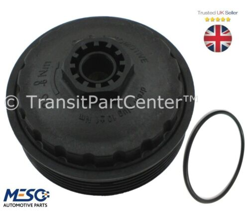 OIL FILTER COOLER BOTTOM SCREW CAP BOWL FORD TRANSIT MK6 2.0 2.4 2000-2006