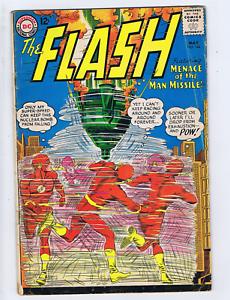 Flash #144 DC 1964 Menace of the Man-Missile !