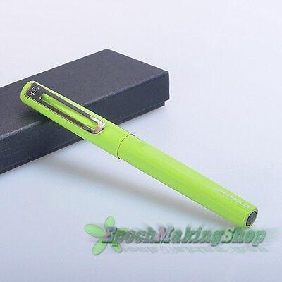 jinhao 599 green Medium nib fountain pen new gift pen Writing office
