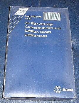 GENUINE SAAB 900 94-97 4236063 6 CYLINDER AIR FILTER