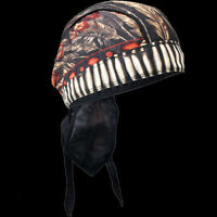 Native American Headdress Feathers And Bead Head Wrap