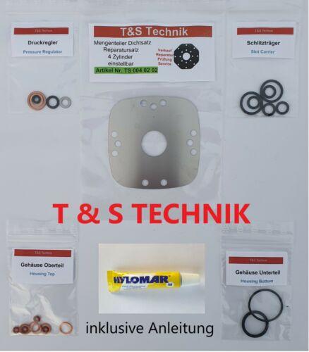 Mengenteiler Reparatursatz Dichtsatz 4 Zyl Fuel Distributor Repair Kit Bosch