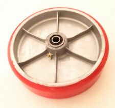Heavy Duty 8 X 2 Polyurethane On Aluminum Wheel 12 Id