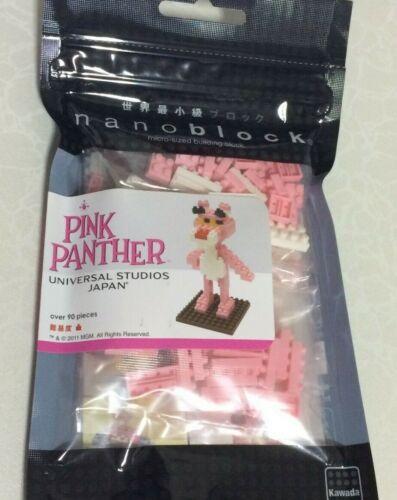 Nanoblock Universal Studios Japan USJ Pink Panther By Kawada