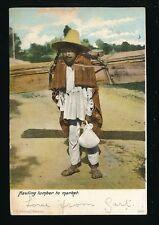 Mexico ethnic Hauling Lumber to market Used 1906 PPC