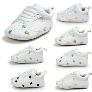 Infant Girl/'s Boy/'s Casual Sports Walking Trainers Baby Kids Sneakers Crib Shoes