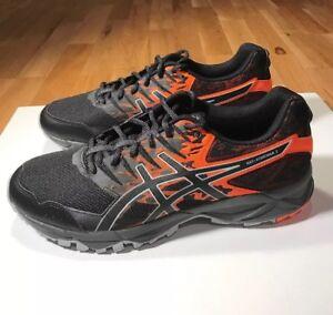 Asics Gel Sonoma 2 Men's Trail Running Shoes, BlackOrange