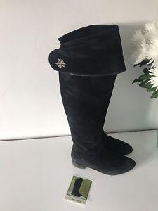 Boots Fit Taille Bottes Olympia Noires 6 Daim En Charlotte qP5Cx
