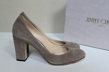 b6ed2766a78 item 4 sz 7.5   37.5 Jimmy Choo Billie Light Mocha Gray Suede Round Toe  Heel Pump Shoe -sz 7.5   37.5 Jimmy Choo Billie Light Mocha Gray Suede  Round Toe ...