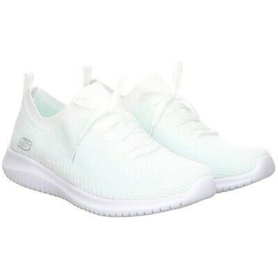 Damen skechers Ultra Flex 2.0 Zucker Bliss Weiß Memory Foam yjYOE