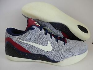 NIKE KOBE IX 9 ELITE LOW FLYKNIT ID OLYMPIC GLOW IN THE DARK SZ 14 ... 6bdf007858