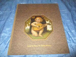 Antik-Buch-1921-Froehliche-Kindheit-Kunst-Bilderbuch-1-5-Auflage