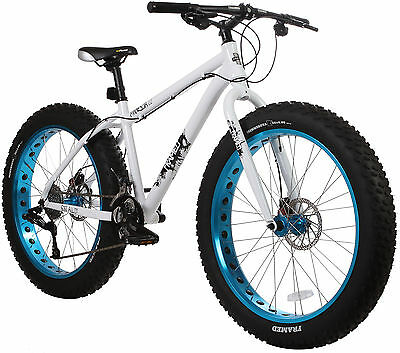 Framed Minnesota 2.0 Fat Bike White/Blue Womens Sz 15in