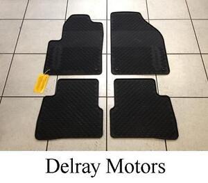 all weather vinyl rubber slush floor mats 2013 2016 dodge dart oem brand new ebay. Black Bedroom Furniture Sets. Home Design Ideas