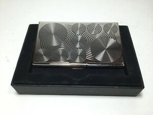 """ACME Studio """"Circles"""" Business Etched Card Case by Verner Panton NEW"""