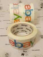 Ebay Tape 3 Rolls Ebay Branded Logo Tape 75 Yd. X 2 Inch Fast Shipping