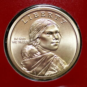 2019 P Native American Sacagawea Dollar ~ Pos B ~ In Mint Wrap from Mint Set