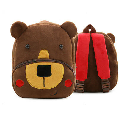 Toddler Kids Children Boy Girls 3D Cartoon Animal Backpack School Bag Rucksack