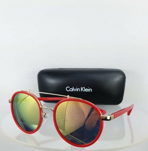 f44311be05f9 Authentic Calvin Klein Sunglasses Ck 1225s 001 Black Gold Frame 1225 ...