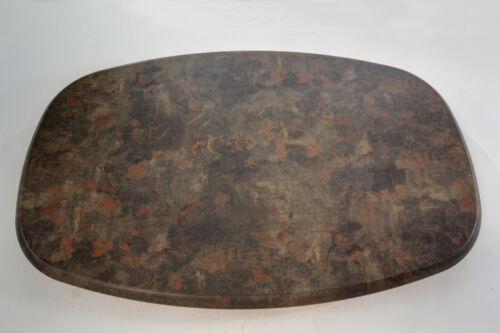 Werzalit Tischplatte 146 x 94 cm rostbraun