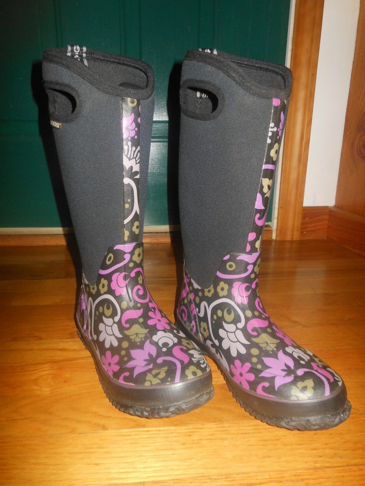 Bogs Classic High Corsage women's boots - Sz 6 M - Worn once