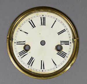 kleines-ZIFFERBLATT-D-120-f-Mini-Regulator-Wanduhr-Uhrwerk-Uhr-clock-dial