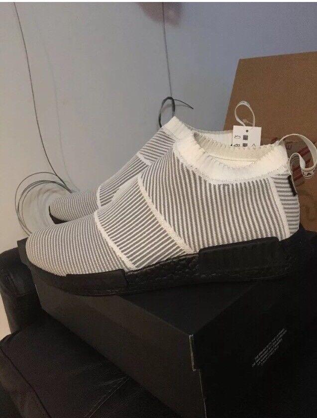 Adidas Mens NMD CS1 GTX PK Gore-Tex White/Black BY9404 Size 12.5