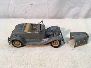 Hubley-Die-Cast-Metal-Vintage-Coche-De-Juguete-Rat-Rod-Coupe-LANCASTER-PA-las-piezas-de-reparacion
