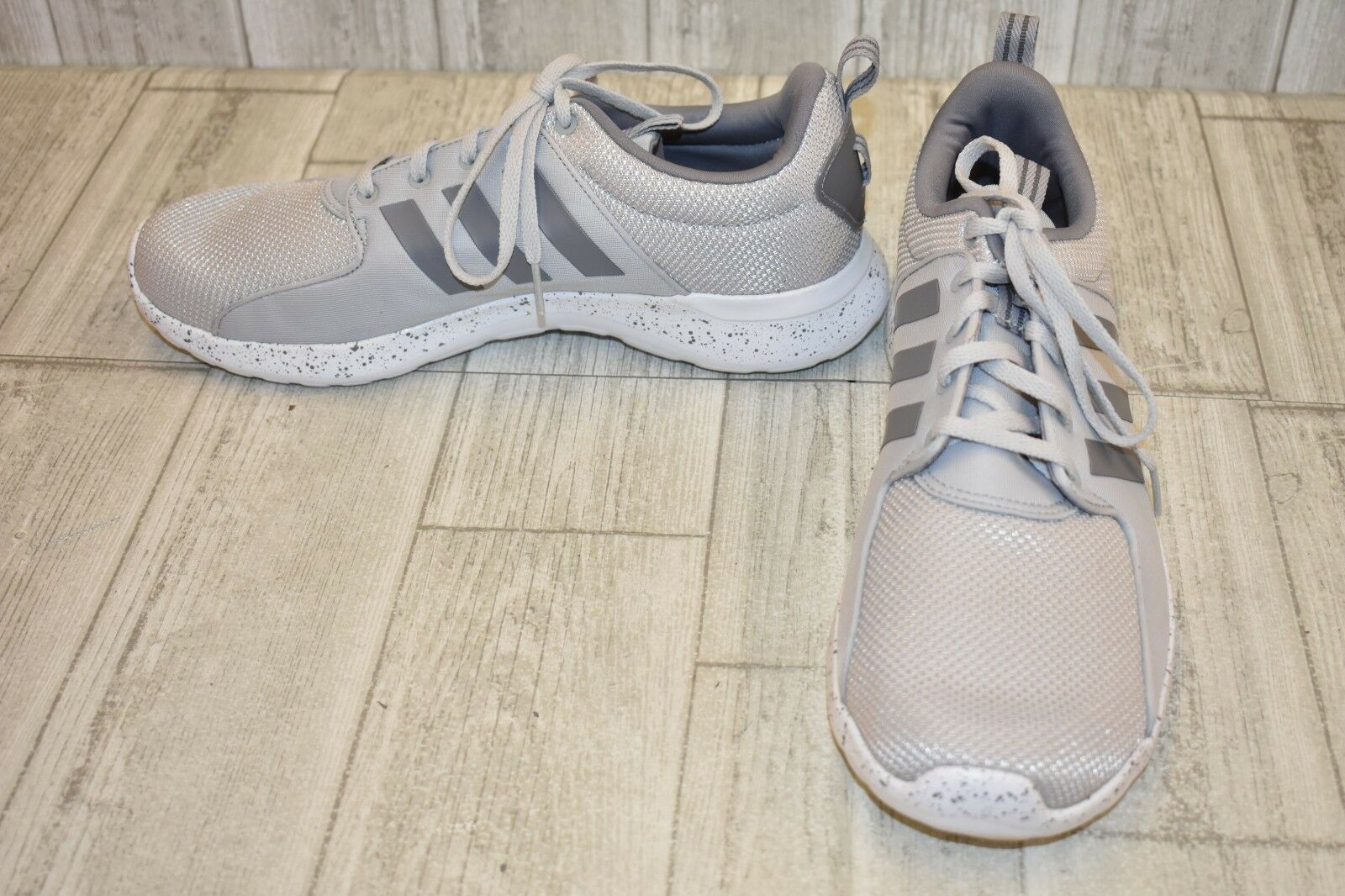 Adidas Cloudfoam Lite Racer Sneakers-Men's size 10.5 Grey
