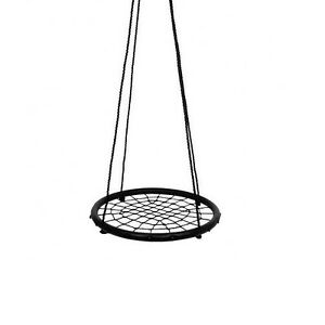 Nest-Swing-BLACK-60cm-Spider-Web-Kids-Special-Needs-Cubby-House-Equipment