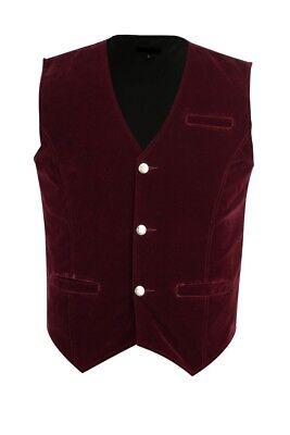 Men/'s Double-breasted Vest Waistcoat Gothic Aristocrat Steampunk Victorian//SOA
