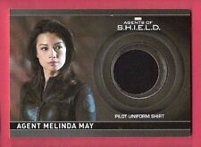 MELINDA MAY MARVEL COMICS WORN PILOT COSTUME RELIC SWATCH CARD AGENTS OF SHIELD