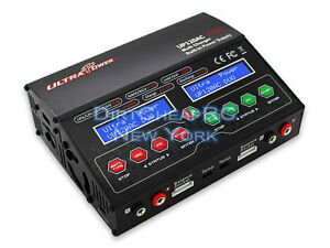 Dual-2-Port-12Amp-240W-ACDC-Balancing-Battery-Charger-LiPo-LiHV-NiMh-UP120AC-DUO