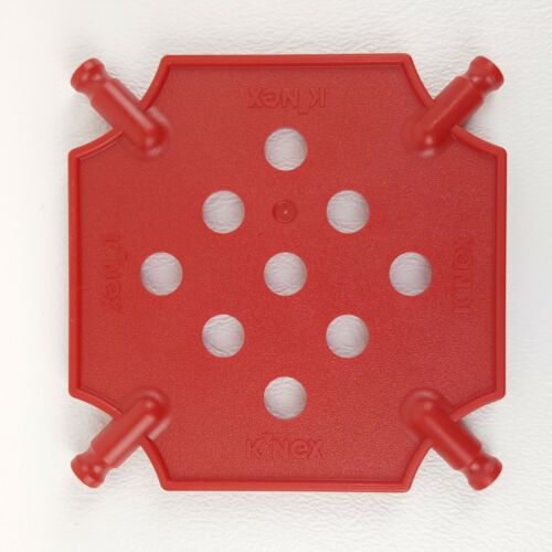 K/'nex Square Panel Small Replacement Parts Pieces Red Expansion