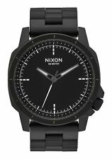 **BRAND NEW** NIXON WATCH THE RANGER OPS ALL BLACK A913001 NEW IN BOX!