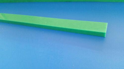 30x15x1450mm Platte Quader Rest  S-grün Kunststoff Leiste Polyethylen PE ca