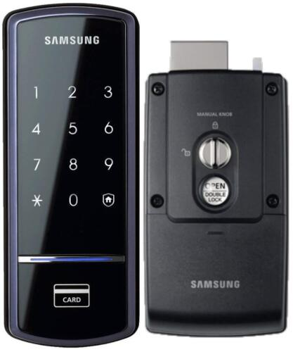 USED Samsung Ezon Smart Digital Door Lock SHS-1321 English US VERSION **