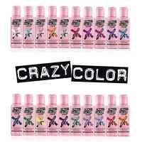 Crazy Color Renbow Hair Dye 100ml. Choose your colour (26 Colours available)